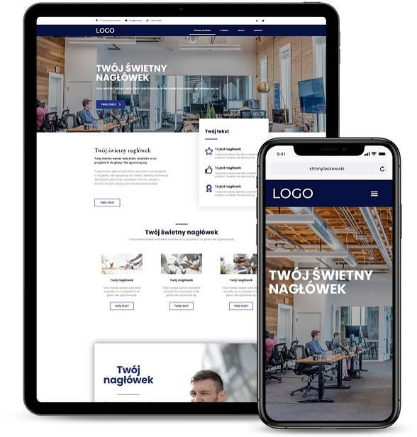 Strona internetowa dla firmy 6