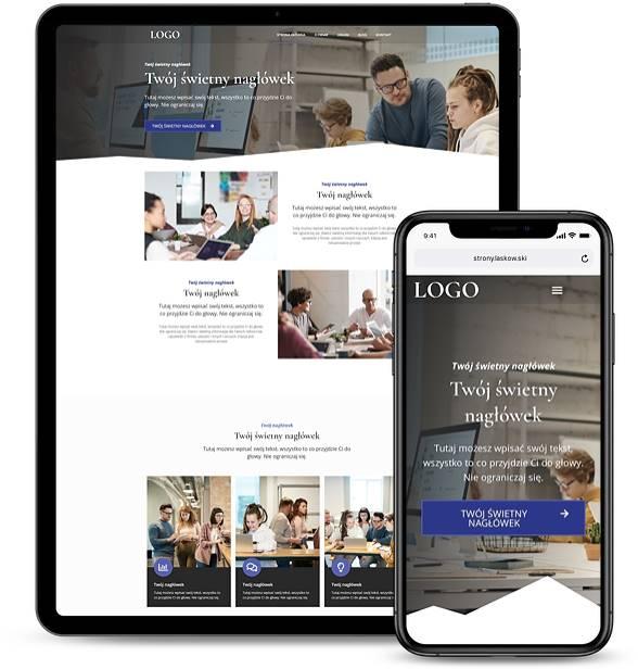 Strona internetowa dla działalności gospodarczej