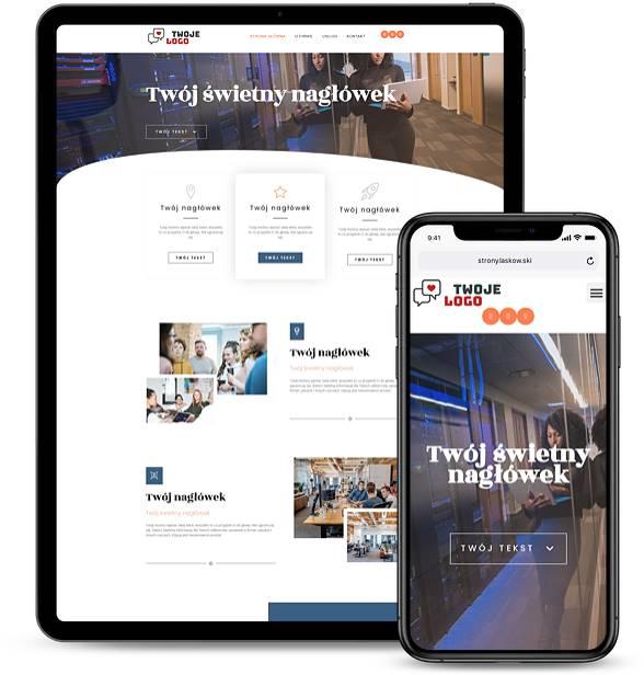 Strona internetowa dla firmy 9