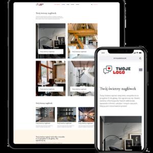 Strona internetowa dla projektantów i architektów