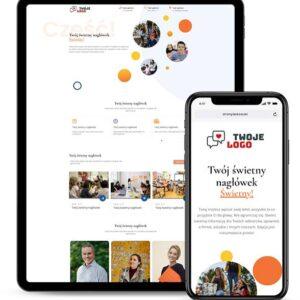 Strona internetowa dla prywatnej szkoły