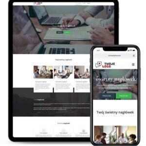Strona internetowa dla biura księgowego