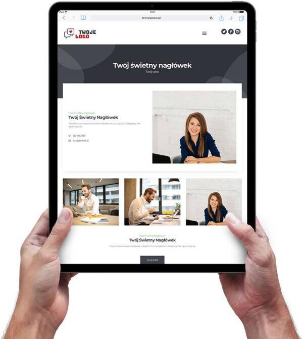 Strona internetowa dla biura rachunkowego