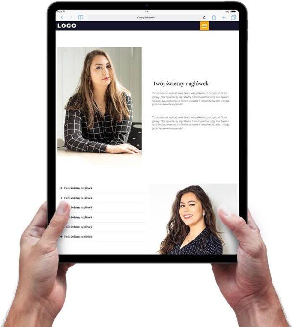 Strona internetowa dla notariusza