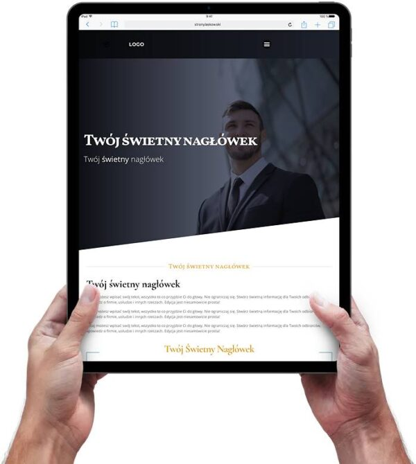 Strona internetowa dla kancelarii adwokackiej