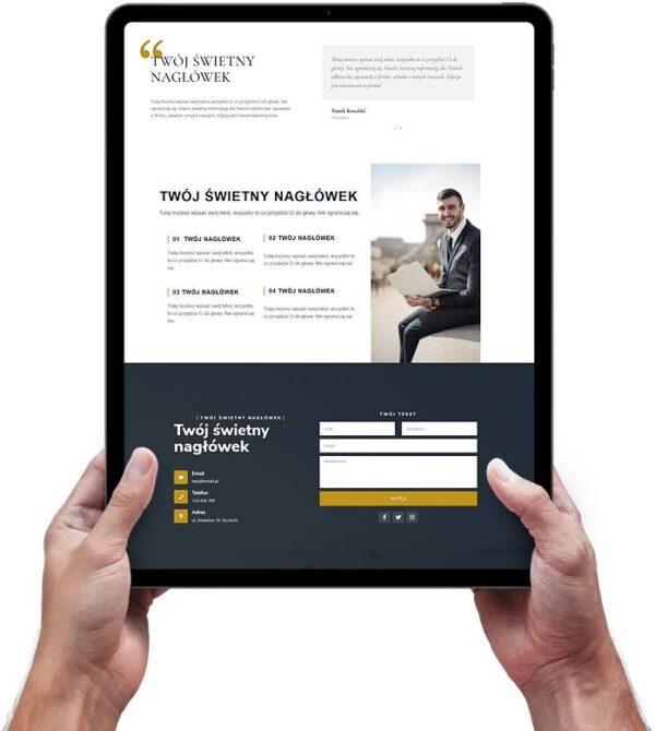Strona internetowa dla radców prawnych