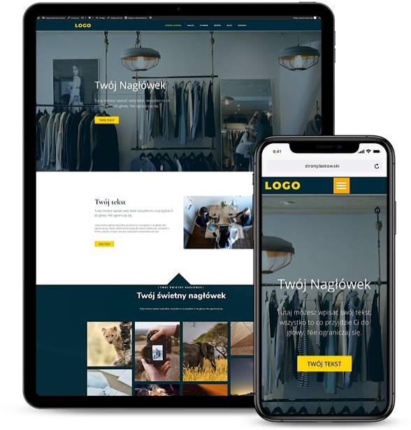 Strona internetowa dla firmy 2
