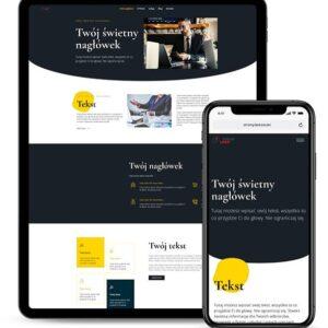 Strona internetowa dla firmy 3