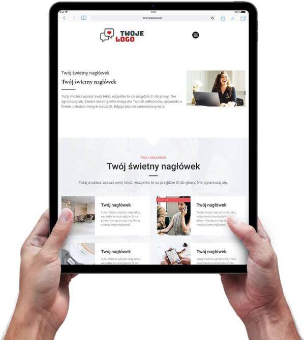 Strona internetowa dla firmy 4