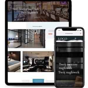 Strona internetowa dla biura projektowego i architektonicznego